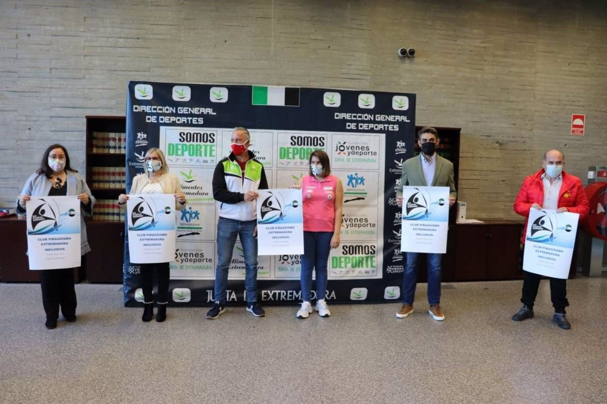 Fundado en Alange un club inclusivo de piragüismo