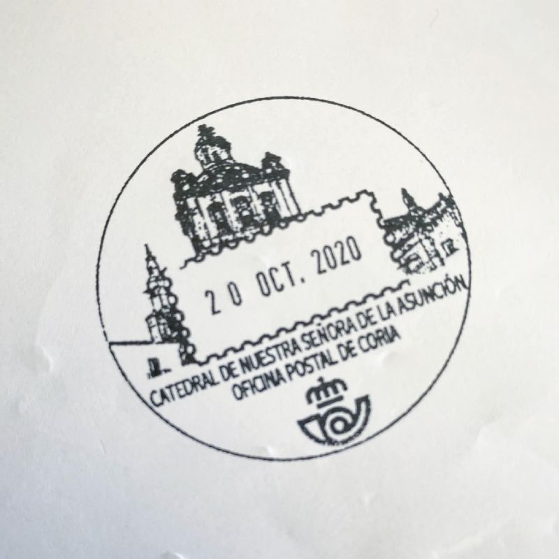 Correos lanzará un sello con la imagen de la Catedral de Coria