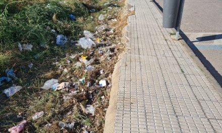El alcalde de Moraleja denuncia presencia de basura acumulada en un solar