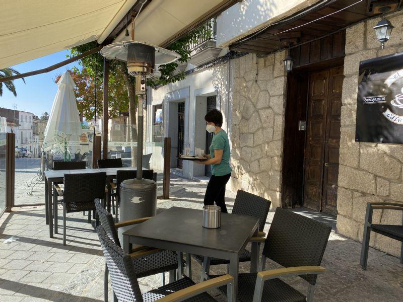 El Ayuntamiento de Coria autoriza la ampliación de terrazas hasta enero