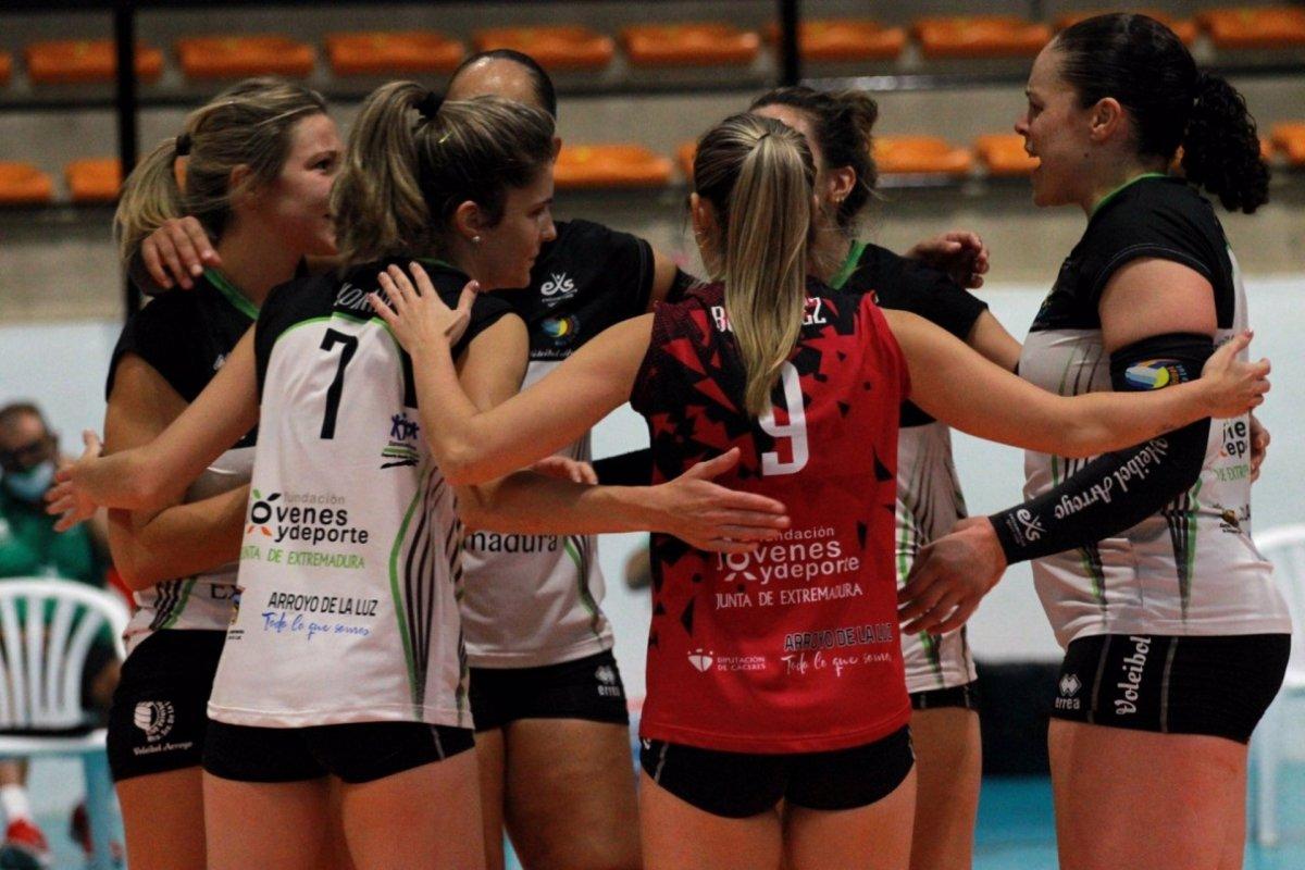Confinado el Extremadura Arroyo Voleibol tras el positivo de dos jugadoras