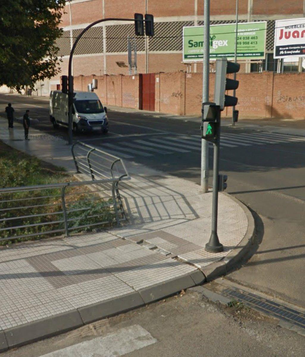 Un hombre resulta herido de gravedad en un accidente registrado en Badajoz