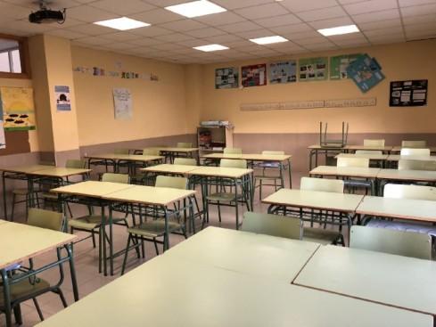Extremadura tiene a los alumnos de 165 aulas en formación telemática por la Covid