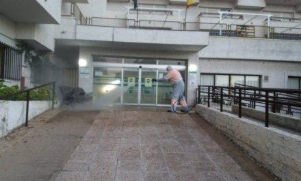 Mérida intensifica la desinfección de calles, parques y centros residenciales