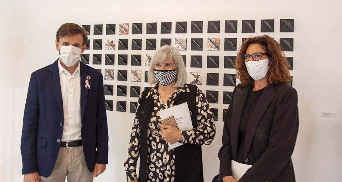 El Brocense de Cáceres expone el arte textil de Assumptió Espada