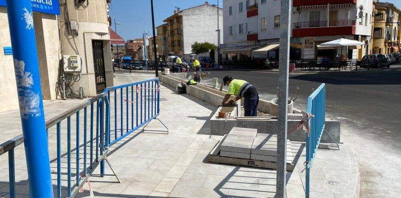 Coria adecuará con bancos, árboles y jardines la avenida Monseñor Riberi