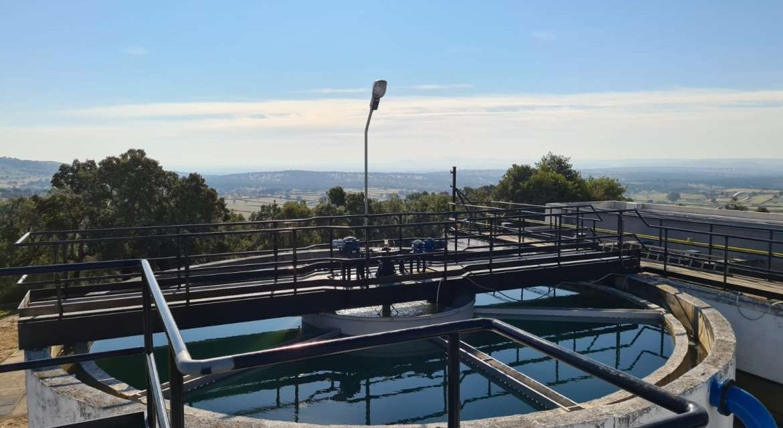 Las obras para garantizar la calidad del agua de Malpartida de Plasencia finalizarán en noviembre