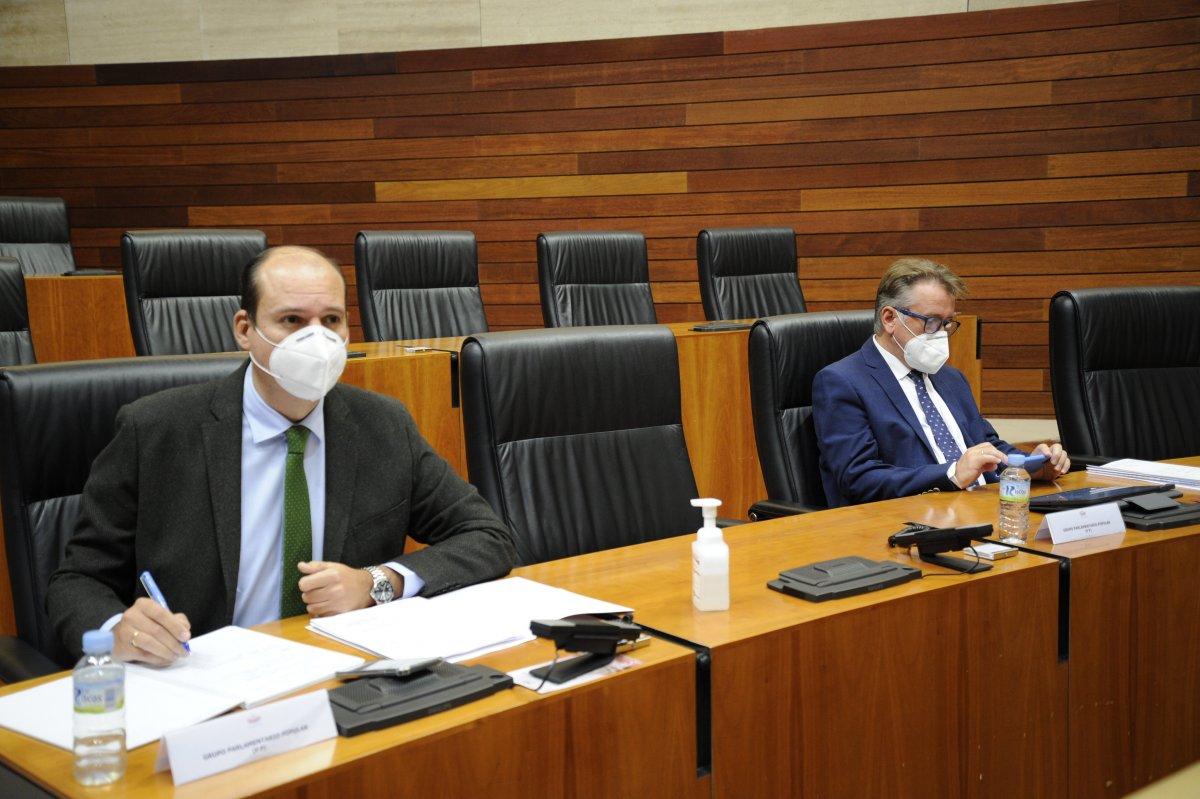 El PP exige que se usen los fondos de reconstrucción para el hospital de Cáceres y el de Don Benito