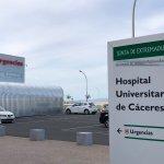 Trasladan en helicóptero al Universitario de Cáceres a un motorista herido tras sufrir un accidente cerca de Zarza