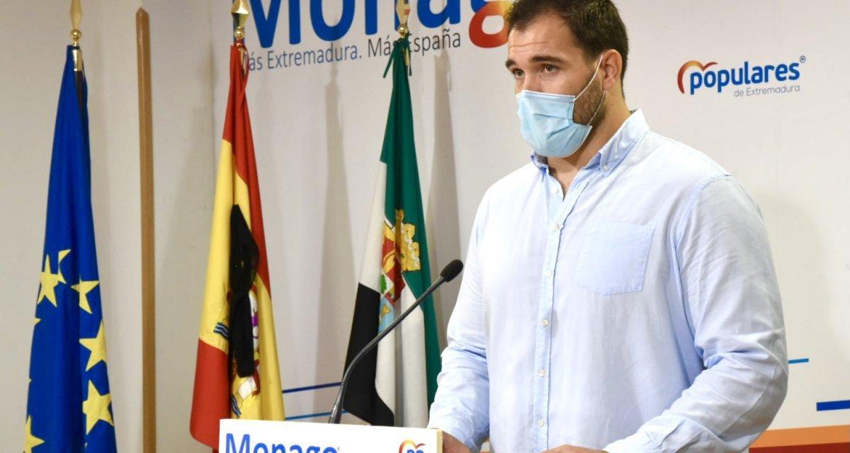 """El PP exige a Vara """"ideas claras y medidas concretas"""" para revertir la situación del paro"""