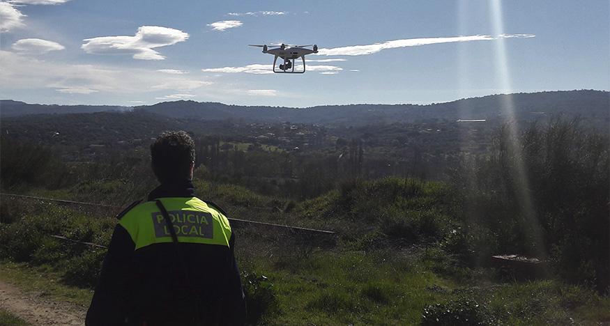 Plasencia vigilará Valcorchero con un dron para evitar reuniones sociales
