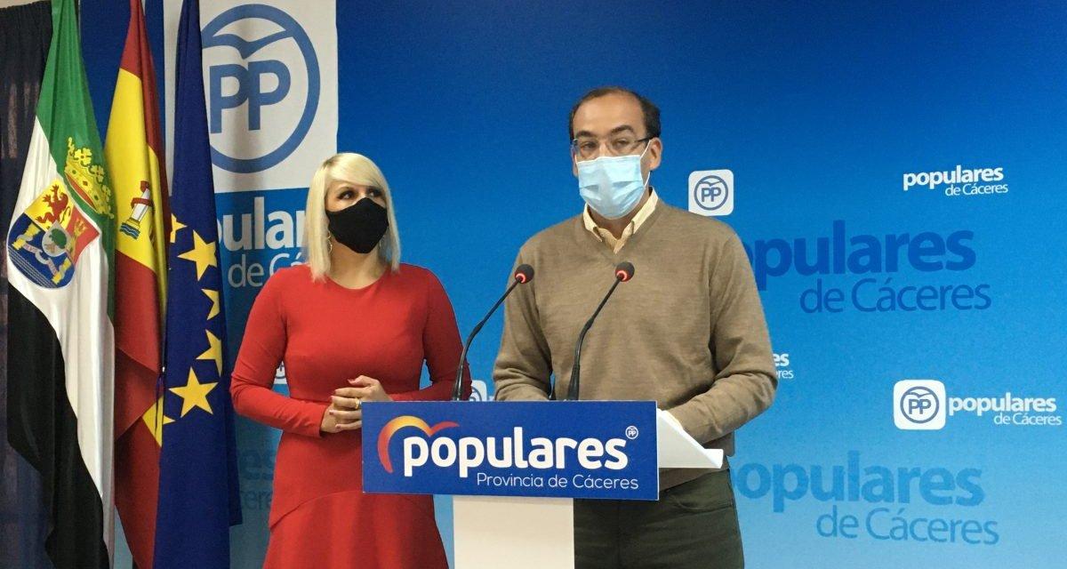 El PP lamenta que Salaya no ayude a los hosteleros de Cáceres con la exención de la tasa de terrazas