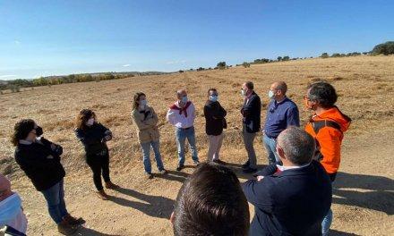 Comienzan las obras para crear 1.200 hectáreas de regadío en Monterrubio