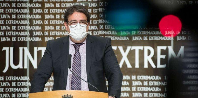 """Sanidad no baraja """"en este momento"""" el cierre perimetral de Extremadura"""