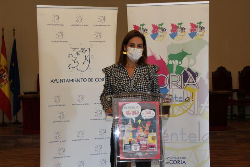 Coria lanza una campaña comercial navideña adaptada a la pandemia