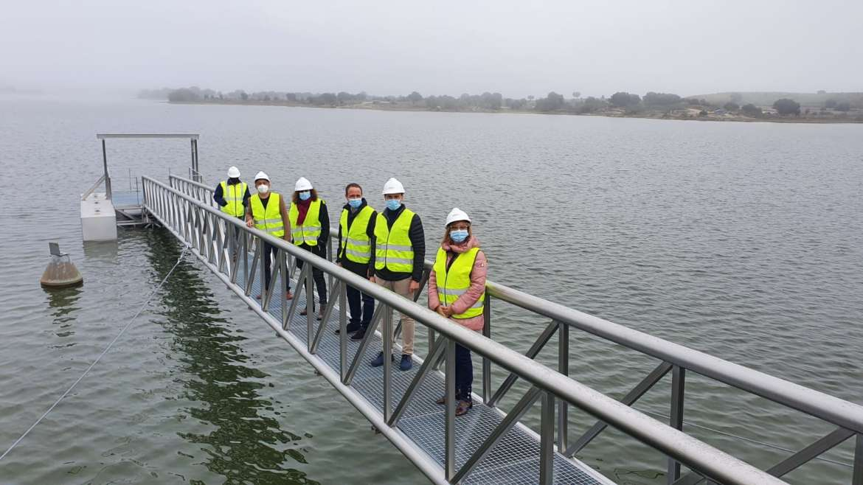 Las obras de mejora del abastecimiento y calidad del agua en Arroyo de la Luz finalizarán en diciembre