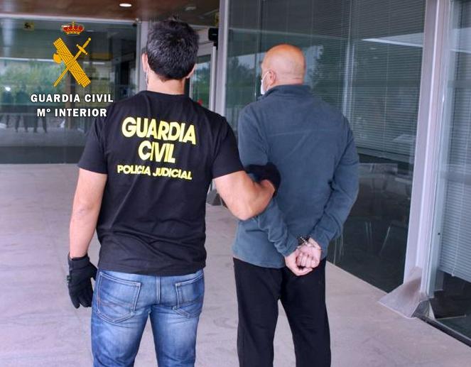 Ingresan en prisión los atracadores del Banco de Santander de Burguillos del Cerro