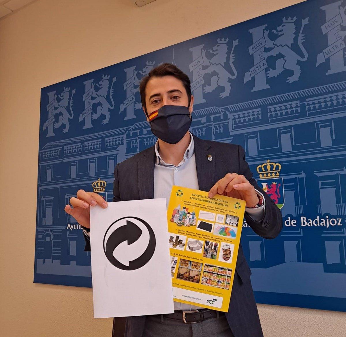 Badajoz lanza una campaña sobre el uso correcto del contenedor amarillo