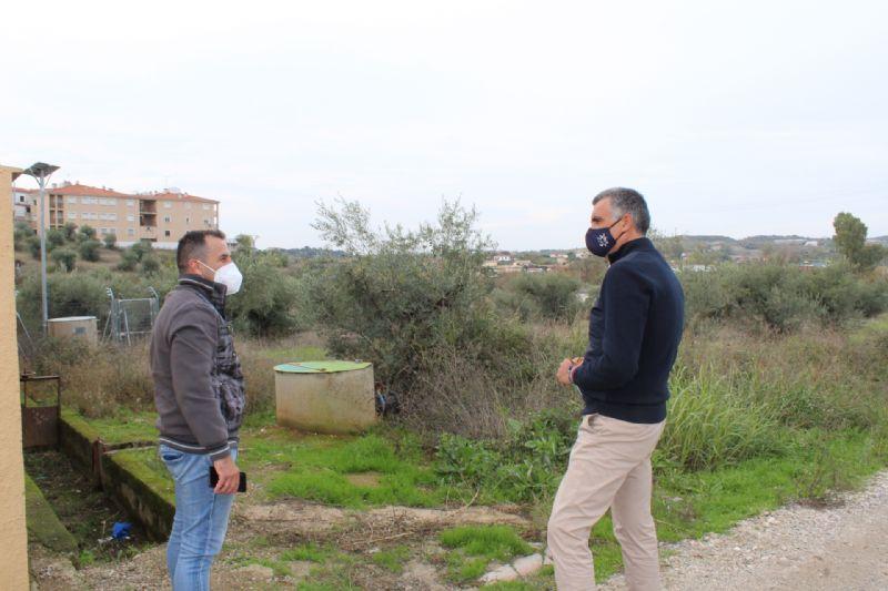 Coria comprará parcelas para ampliar el cementerio municipal