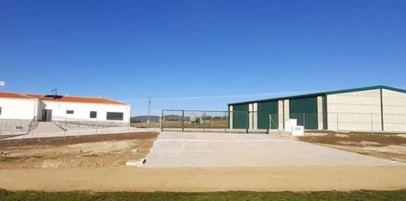 La Junta invierte casi 290.000 euros en una base de retenes contra incendios en Garciaz