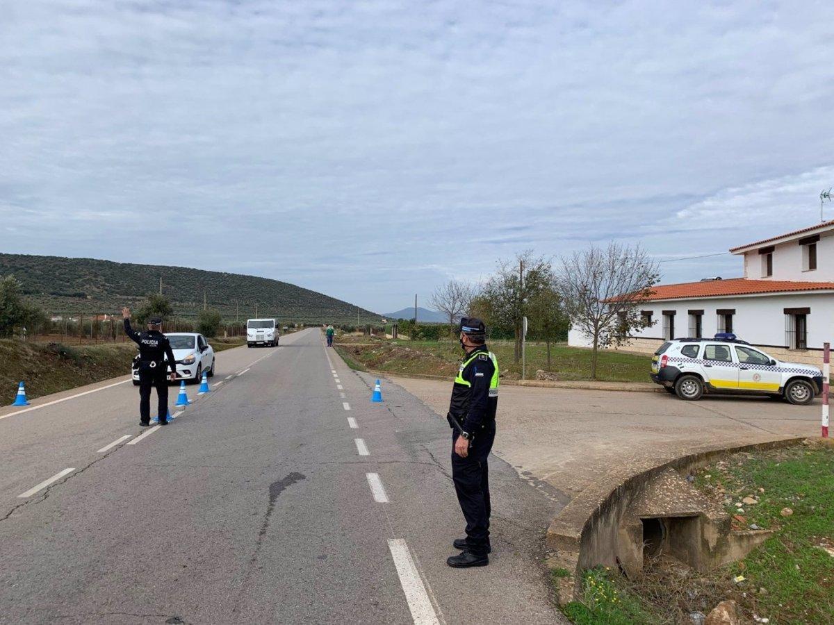 Los Santos de Maimona abandona el cierre perimetral este jueves