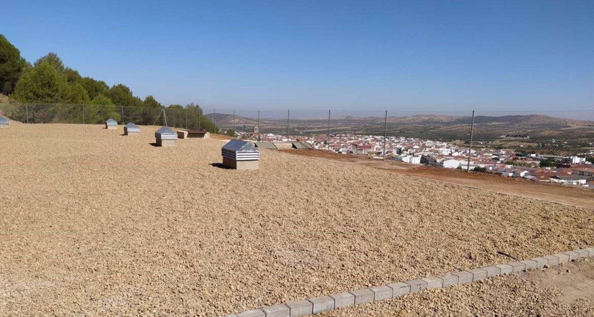 Los Santos de Maimona invierte más de 565.000 euros en un nuevo depósito de agua