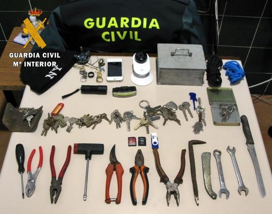 Detenidas dos personas por perpetrar robos en Zafra y Puebla de Sancho Pérez
