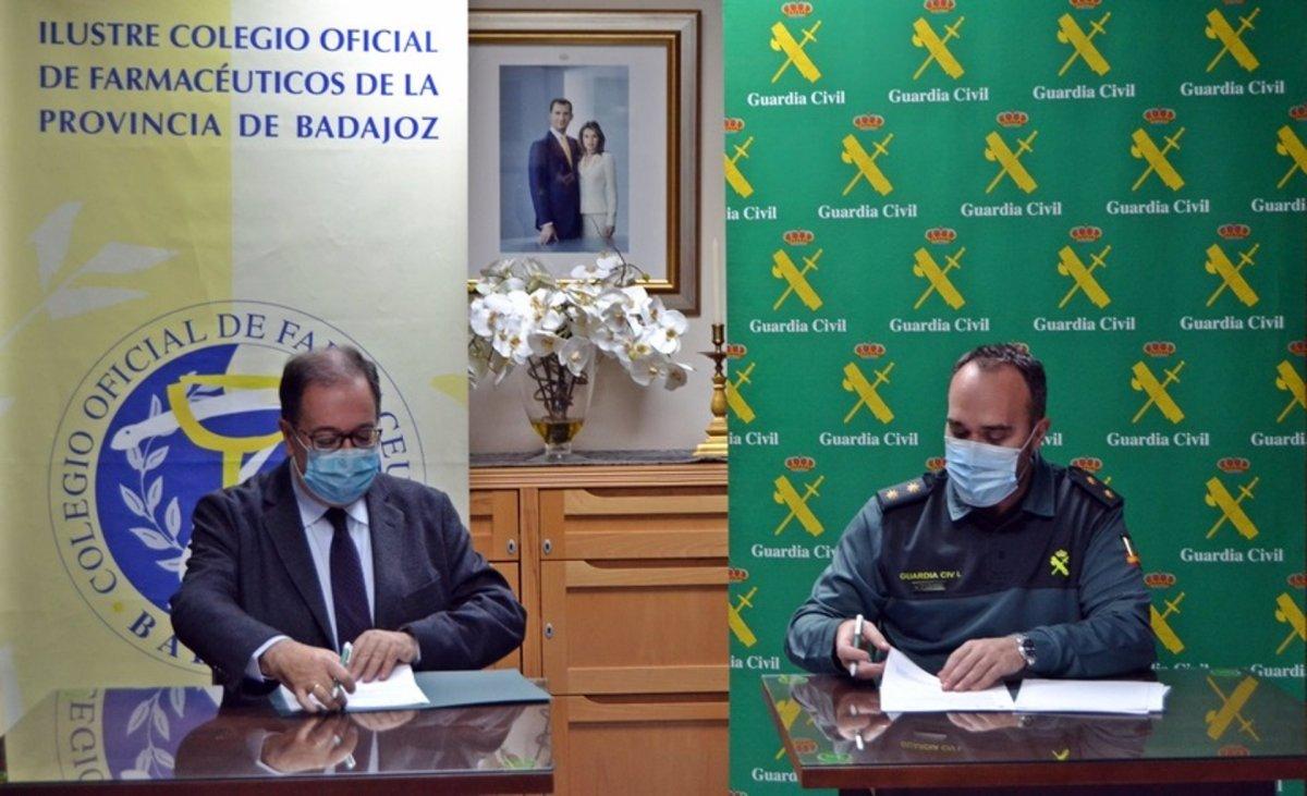Farmacias de Badajoz alertarán a la Guardia Civil si creen que los mayores pueden ser víctimas de un delito