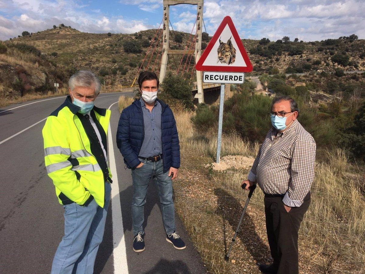 Seis carreteras de la provincia de Cáceres indican la presencia de linces para evitar atropellos