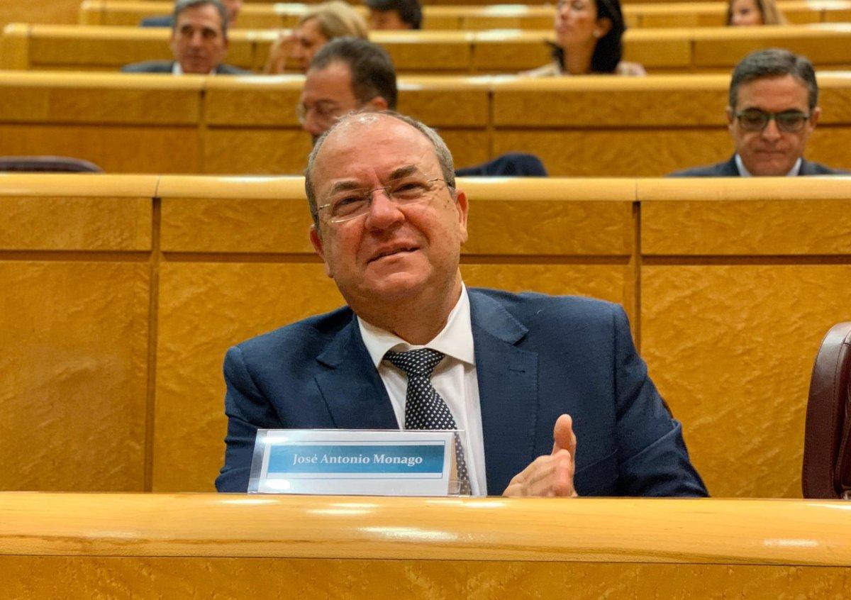 Monago defiende en el Senado crear un organismo que gestione los fondos europeos