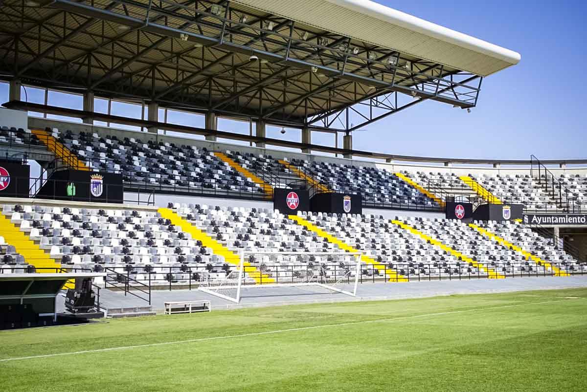 El Badajoz disputará los próximos encuentros sin público en el Nuevo Vivero