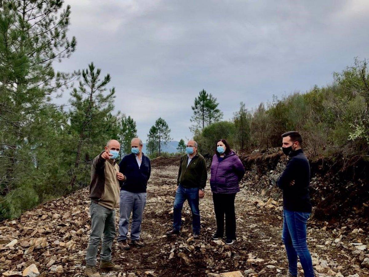 La Junta construye dieciocho pistas forestales en el Valle del Árrago para prevenir incendios