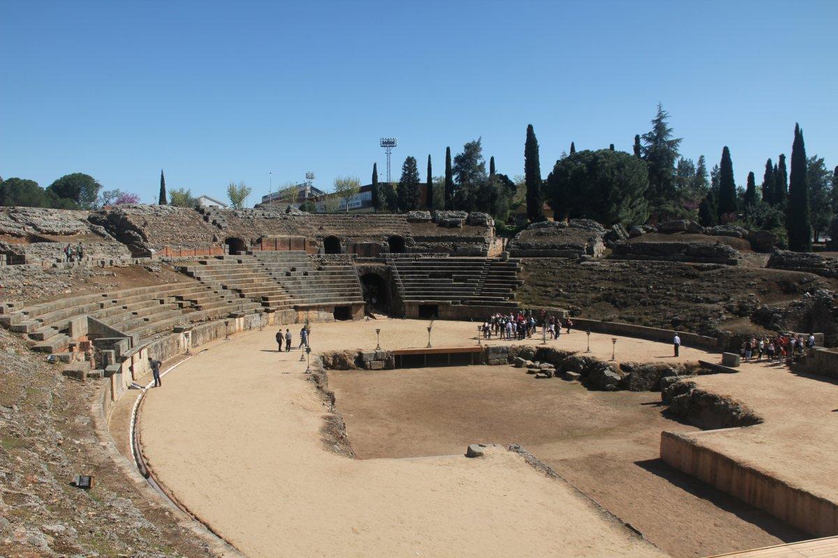 Premiado el trabajo para mejorar la accesibilidad en Anfiteatro Romano de Mérida