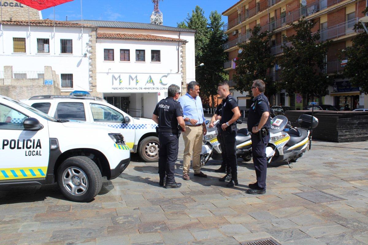 La Policía Local de Coria estrenará nuevo coche con etiqueta ECO