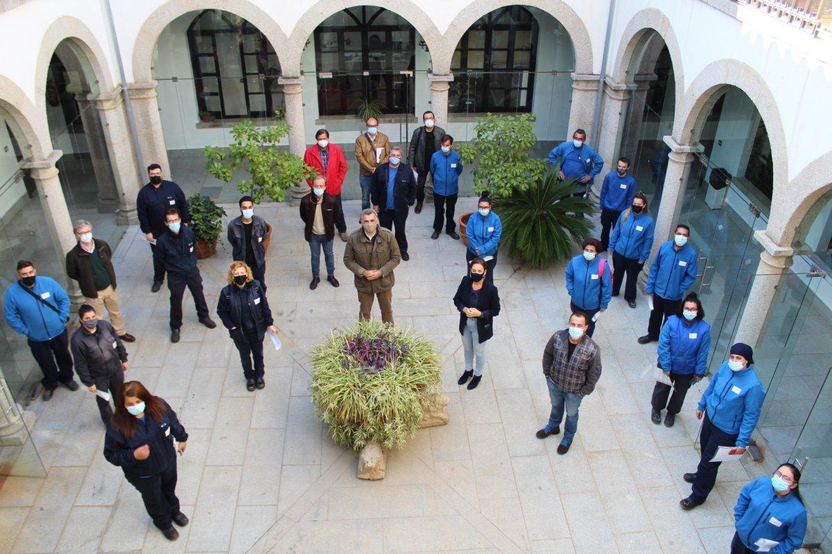 Coria clausura las escuelas profesionales que han formado a treinta alumnos