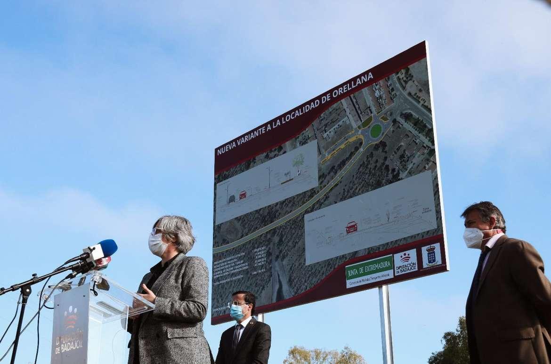 La variante de Orellana facilitará el acceso a la playa y servirá para estimular el turismo