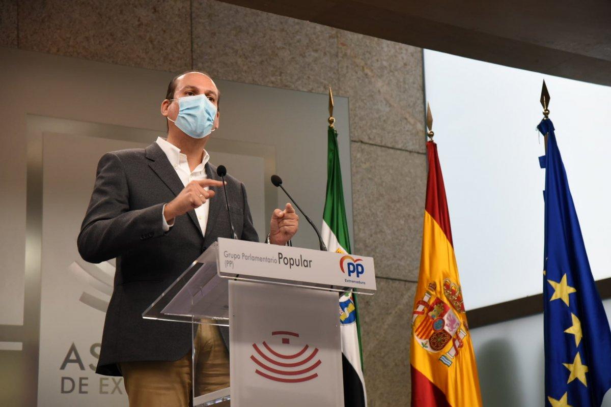 """El PP califica los presupuestos como un  """"auténtico engaño vestido de proyecto de ley"""""""