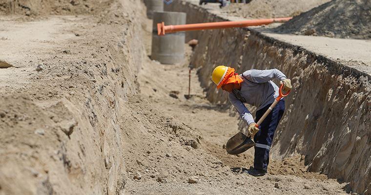 Arrancan las obras de saneamiento de Valdesalor, La Mejostilla y Llopis Ivorra