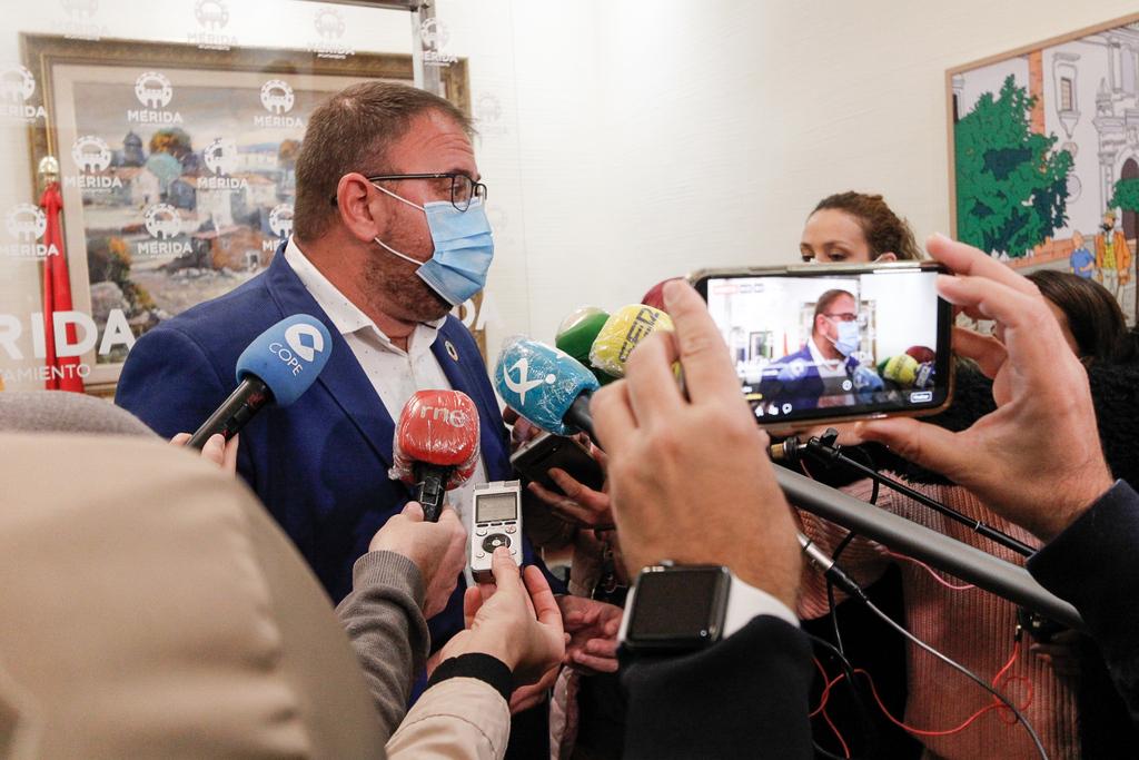 """Osuna: """"Mérida necesita inversiones de empresas sin que existan bloqueos de suelo industrial"""""""