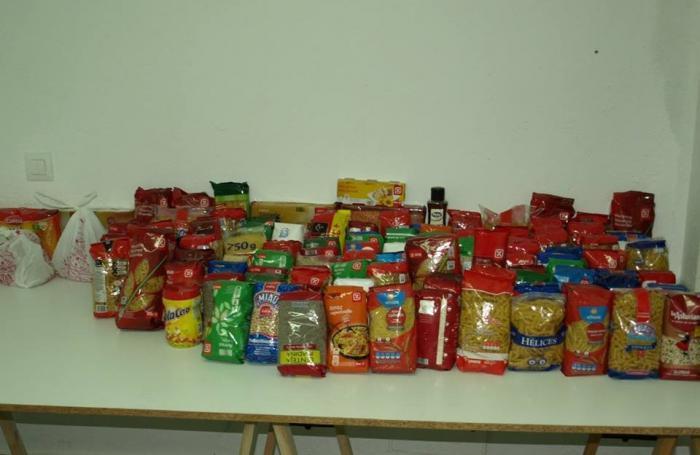 Cáritas Coria recoge alimentos para ayudar a las familias más necesitadas