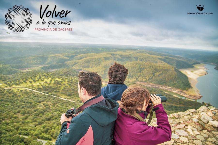 Volver a lo que amas: provincia de Cáceres