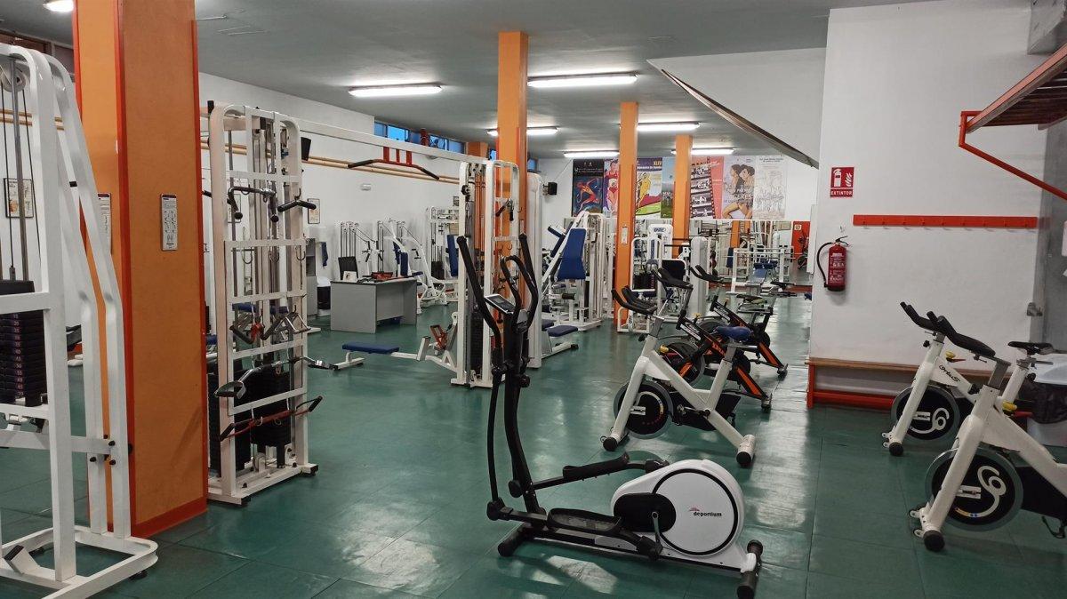 El gimnasio Julio Montero de El Cuartillo en Cáceres reabre este lunes
