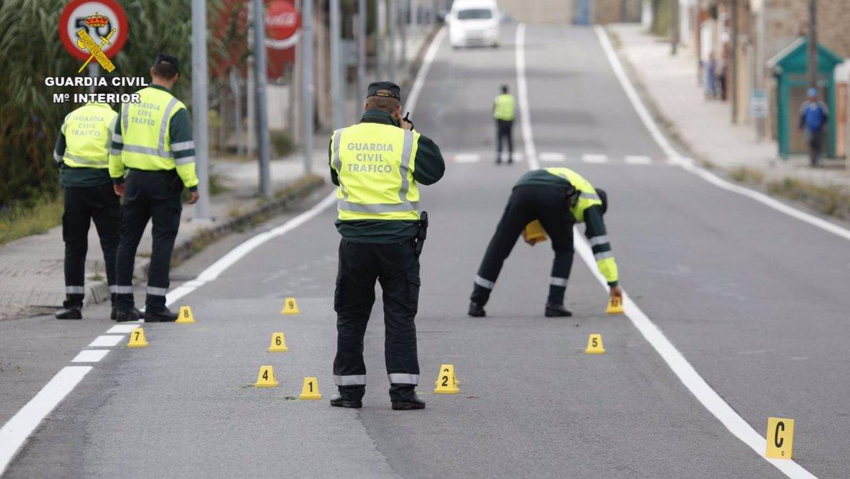 Investigados dos conductores por no auxiliar a un herido en Baños de Montemayor