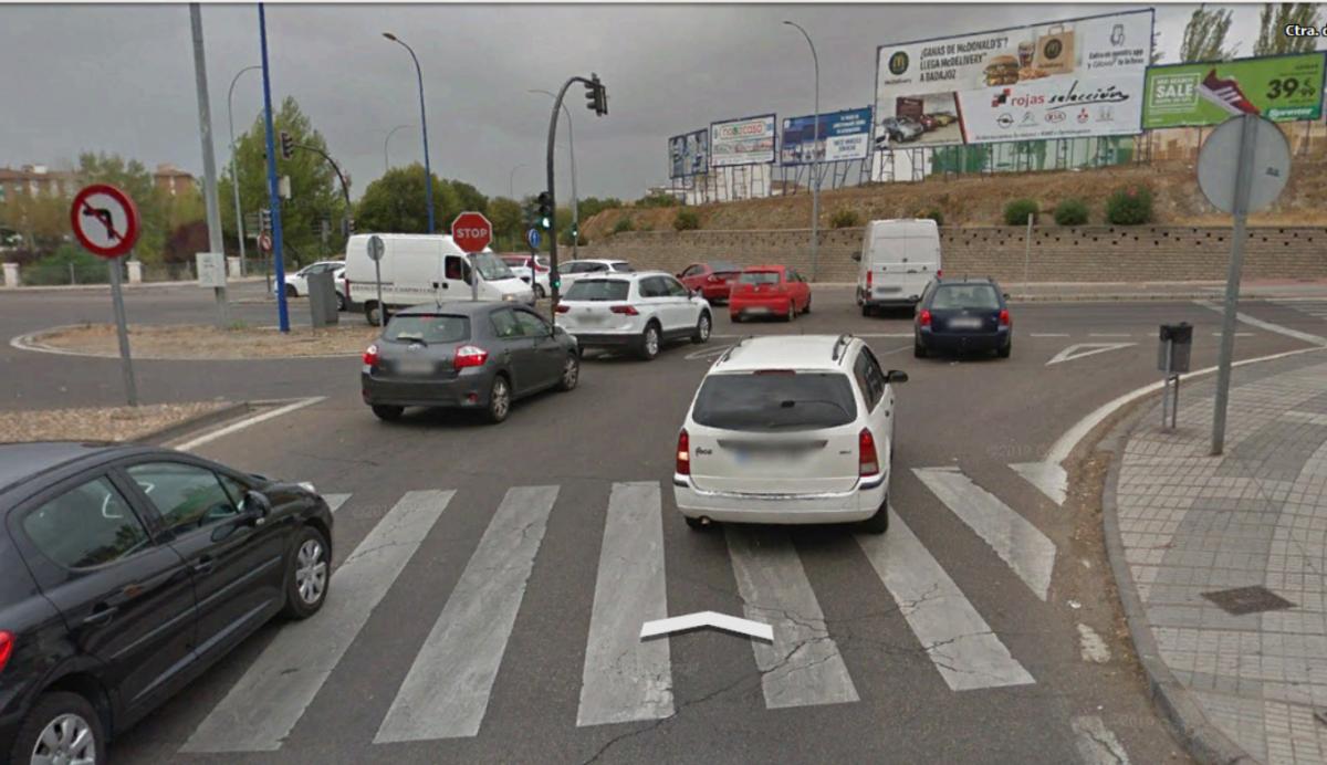 Un hombre de 78 años resulta herido grave tras ser atropellado en Badajoz