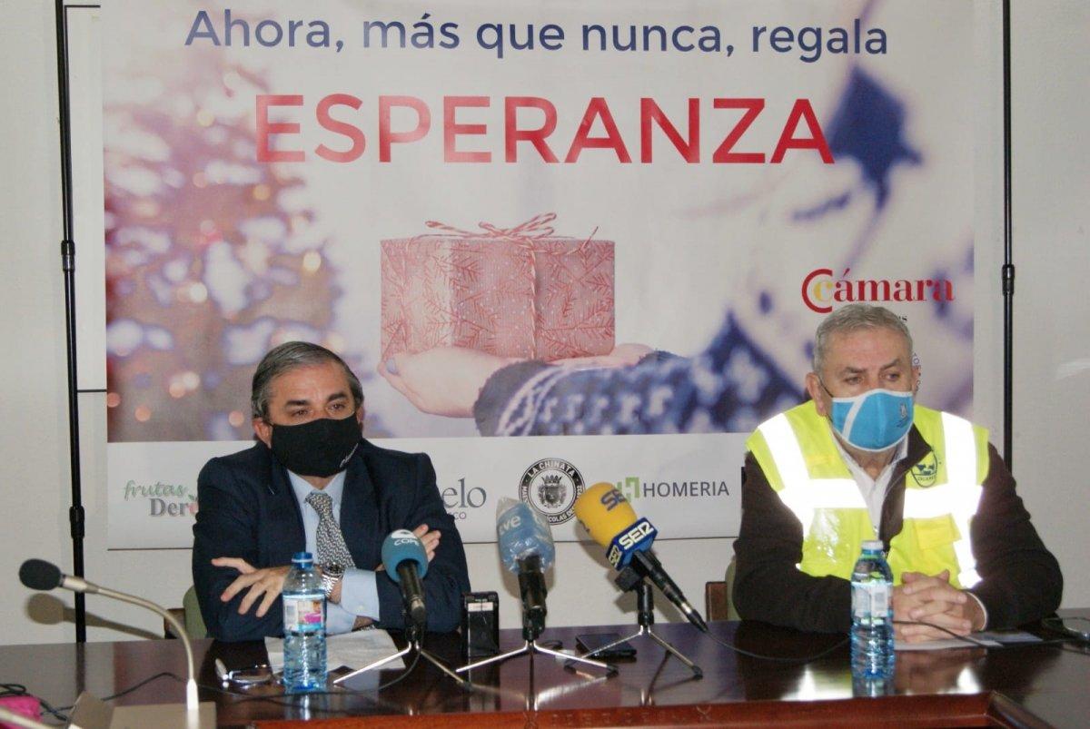 La Cámara de Comercio de Cáceres impulsa una campaña para ayudar a los más desfavorecidos