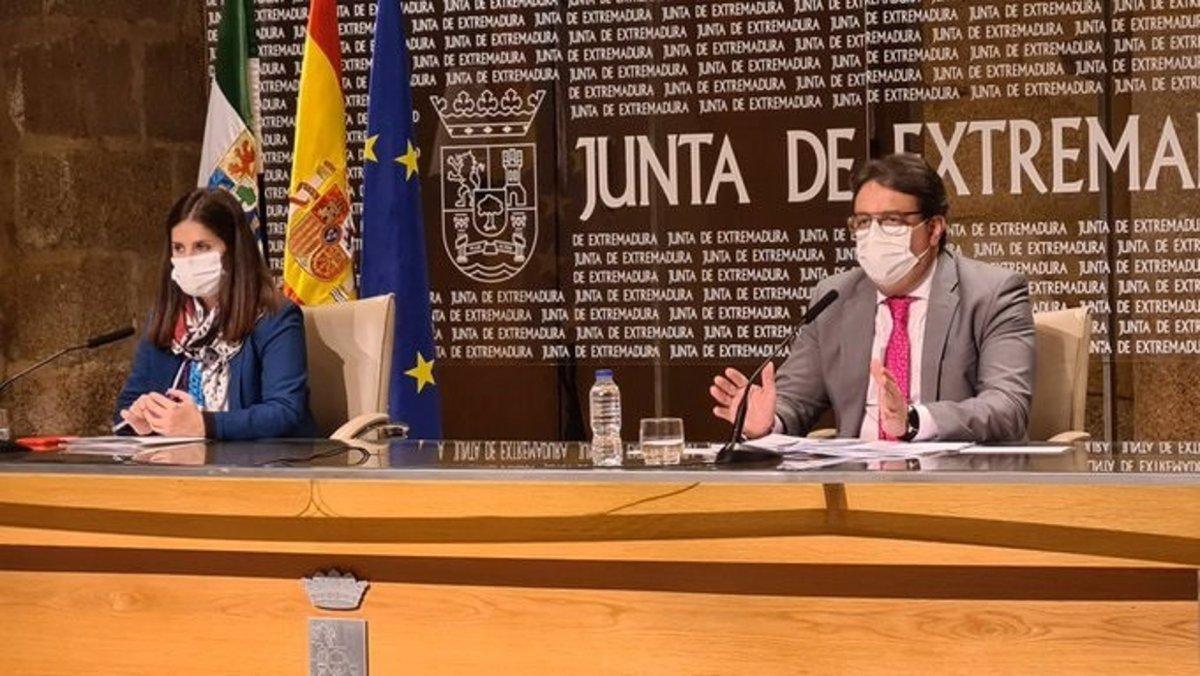 Extremadura anulará el Plan de Navidad si los contagios continúan creciendo