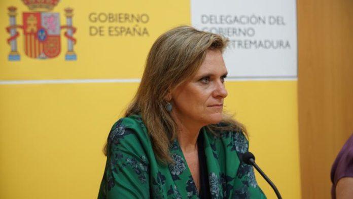 La delegada del Gobierno en Extremadura está en cuarentena tras dar positivo por Covid