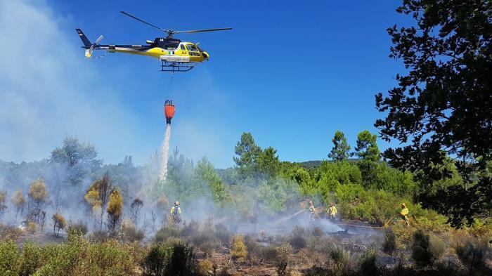 Destinan más de 500.000 euros para mitigar los efectos del incendio de La Vera y el Jerte