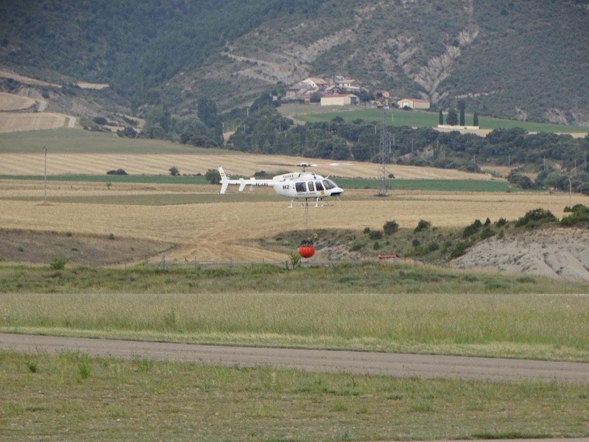 Mirabel tendrá un aeródromo de lucha contra los incendios forestales