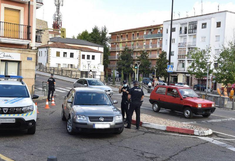 La Policía de Coria trabaja para evitar la conducción bajo efectos de alcohol y drogas